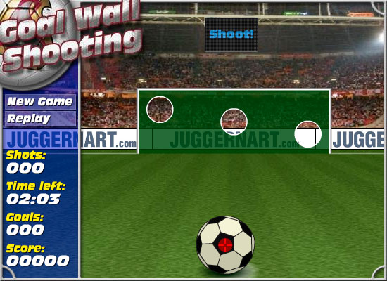 Goal Wall Shooting 3D Soccer Game